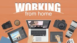 Becoming self-employed and work from home.